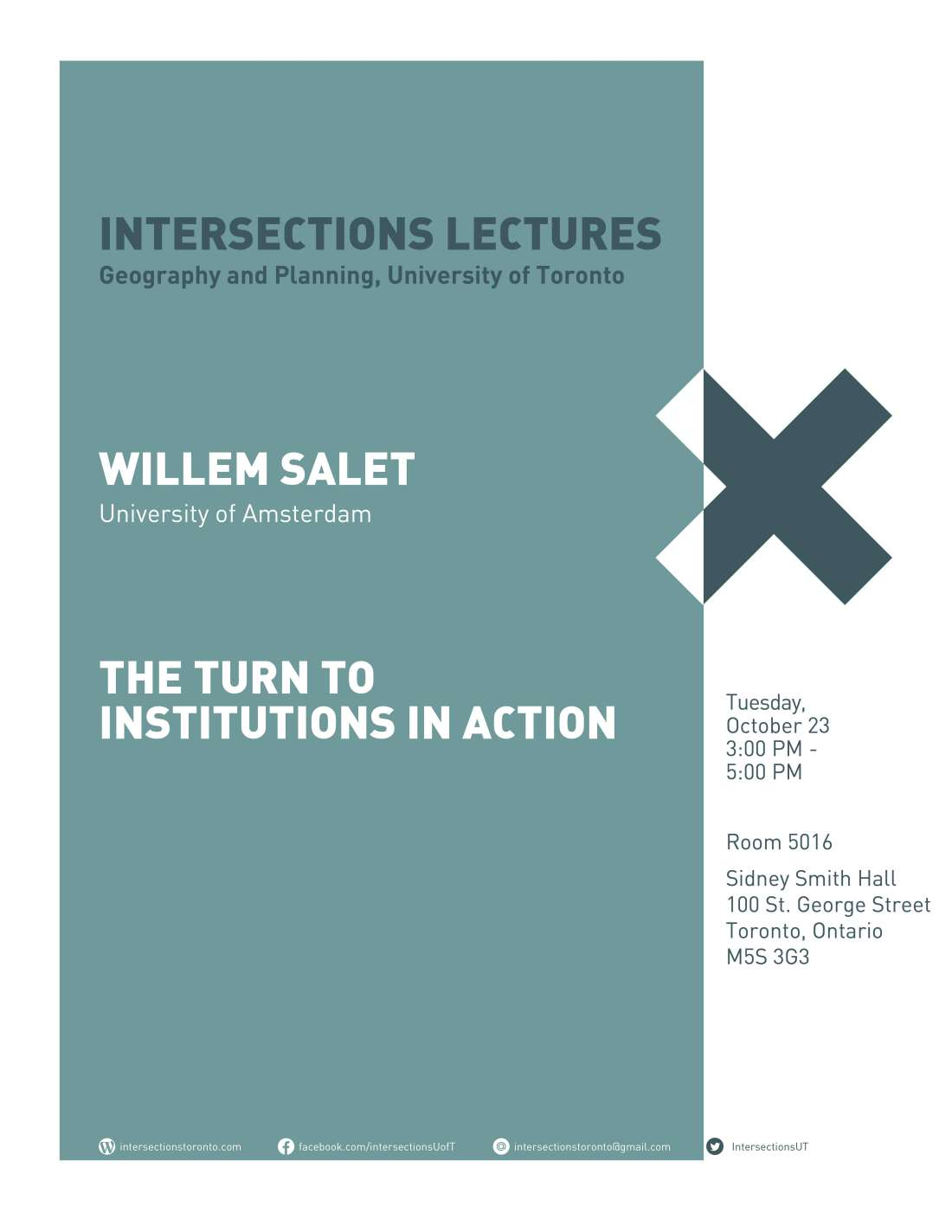 Intersections 2018-19 Posters_Willem Salet