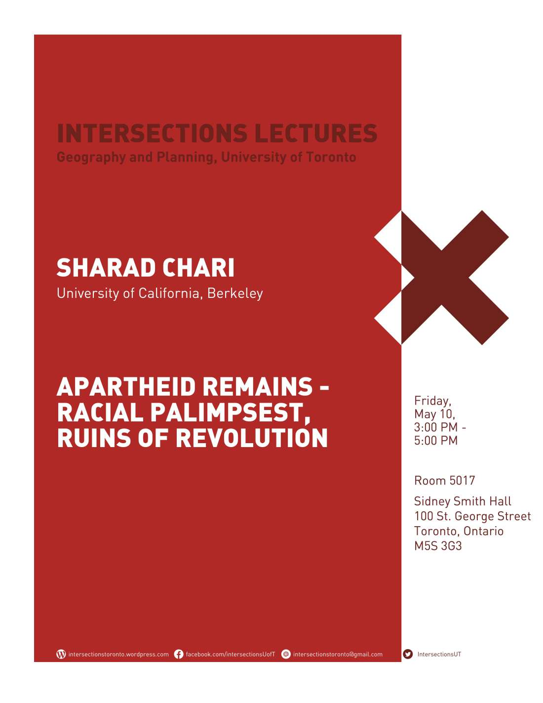 Intersections 2018-19 Posters_Sharad Chari